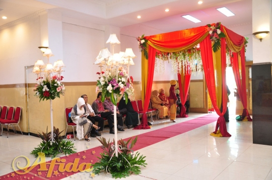 Alur Jalan 2 Aula Muzdalifah Islamic Center Bekasi (16 Juli 2016)