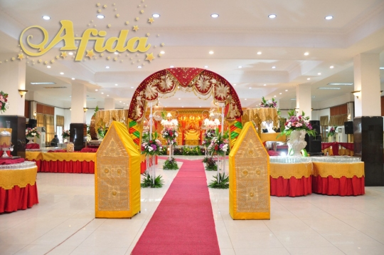Alur Jalan 7 Aula Muzdalifah Islamic Center Bekasi (16 Juli 2016)