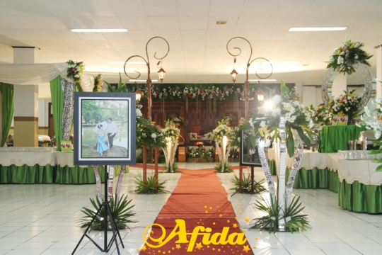 Alur Jalan Aula Muzdalifah Islamic Centre Bekasi