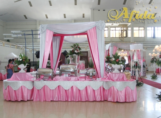 Buffe Kotak Pink Silver 2 (Balai Prajurit 3 April 2016)