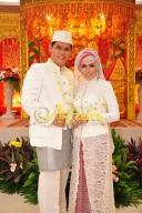 Busana Akad Nikah Nasional Muslim (Aula Muzdalifah Islamic Center Bekasi 16 Juli 2016)