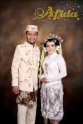 Busana Akad Nikah Pengantin Solo Aula Arafah Asrama Haji Bekasi 17 Januari 2016