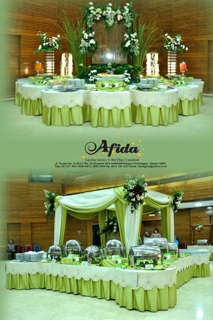 dekorasi catering