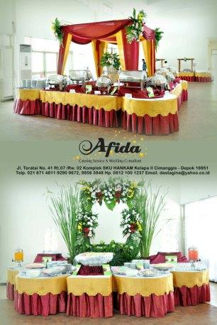 Dekorasi Catering Graha Sativa Bulog