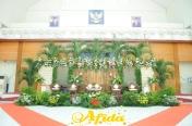 Gebyok Modifikasi Aula Arafah Asrama Haji Bekasi 2