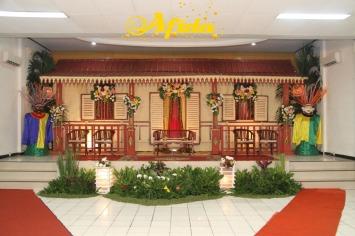Pelaminan Betawi Aula Musdalifah Islamic Center Bekasi