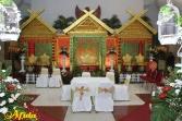 Pelaminan Makassar Aula Sarbini 16 Nov '14 (Ria & Syamsu Barkah)