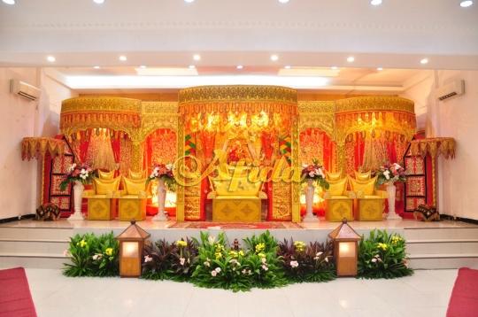 Pelaminan Padang Standar (Aula Muzdalifah Islamic Center Bekasi 16 Juli 2016)