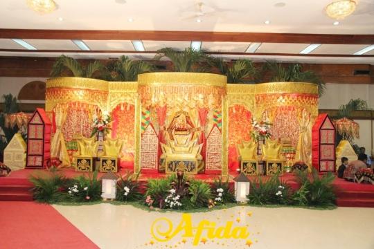 Pelaminan Padang Standar Masjid Al Azhar Blok M