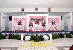 Pelaminan Styrofoam Modifikasi Graha Garda Dirgantara (11 April 2015)