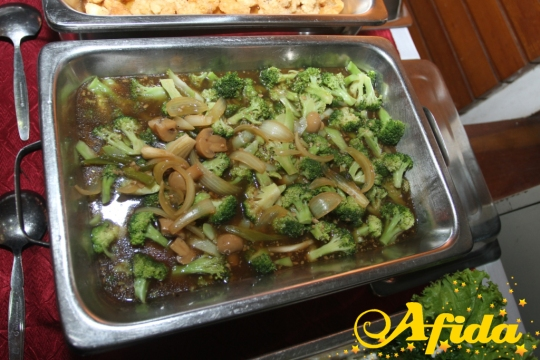 27 Brokoli Saus Jamur (15 Juni 2014 Balai Komando)