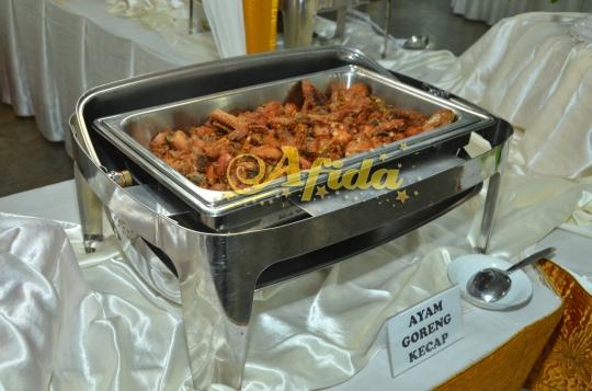 Ayam Goreng Kecap (Masjid Al Huda Tebet 31 Juli 2016)