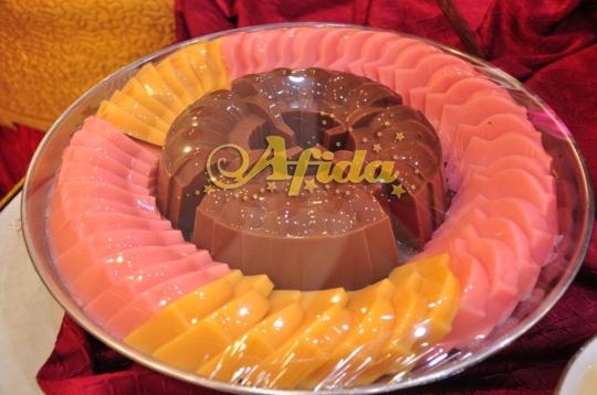 Pudding Coklat, Mangga & Strawberry  (Aula Muzdalifah Islamic Center Bekasi 16 Juli 2016)