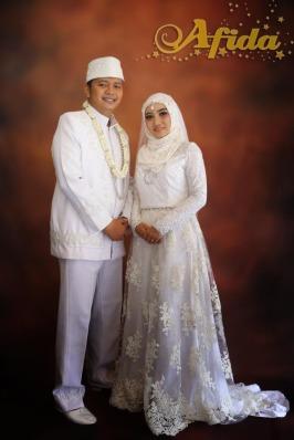 Busana Akad Nikah Pengantin Nasional (SMK 57, 4 November 2017)